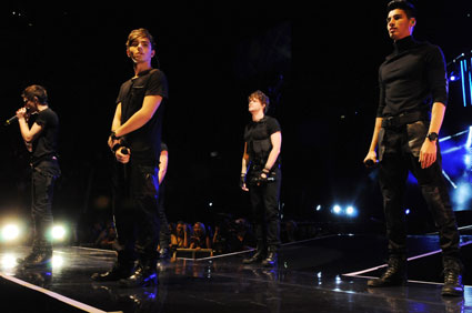 the wanted in the o2 arena