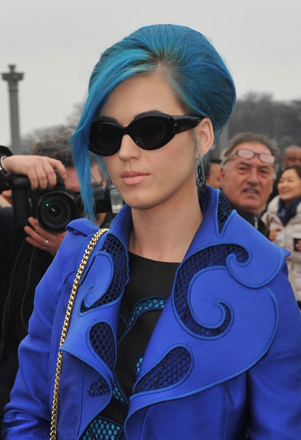 katy perry in paris for fashion week 2012