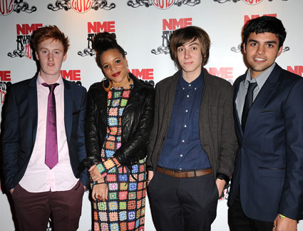 cast of skins at nme awards 2012