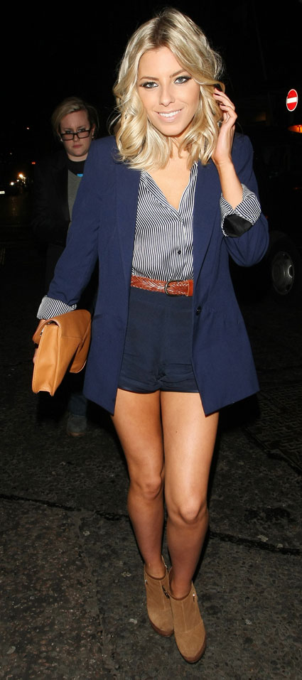 mollie king out and about in london