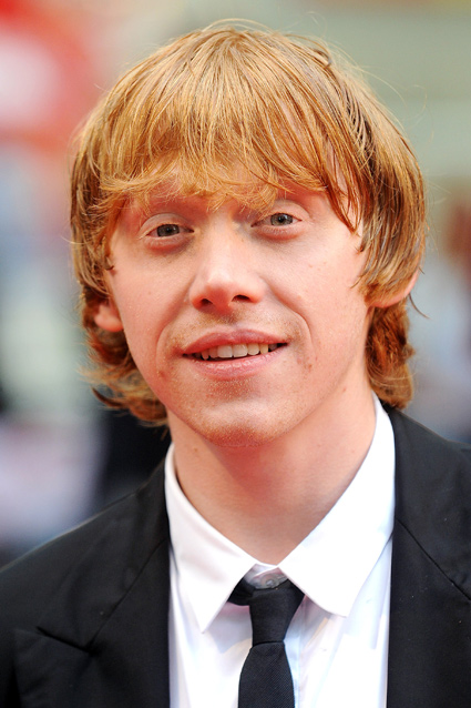 ... be up for a kiss behind the broom sheds with the loveable Rupert Grint?