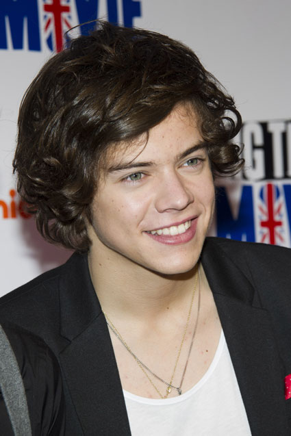 harry styles smiling