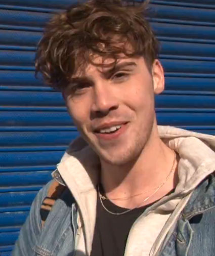 Aiden Grimshaw's behind the scenes It This Love video