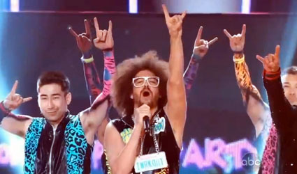 LMFAO perform on Billboard Awards 2012