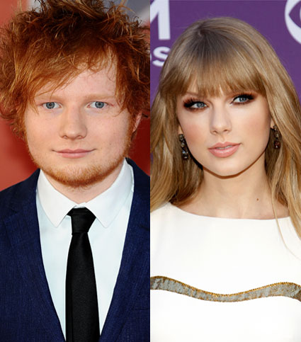Ed Sheeran and Taylor Swift are writing together