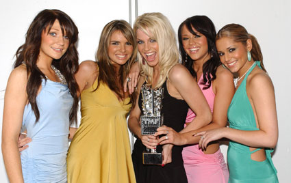 Girls Aloud back in the day