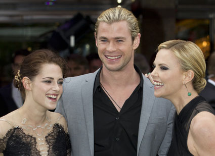 Snow White & The Huntsman premiere in London