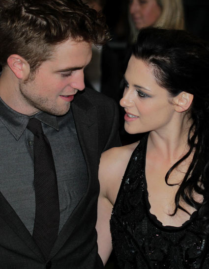 Robert Pattinson and Kristen Stewart party until 5am?