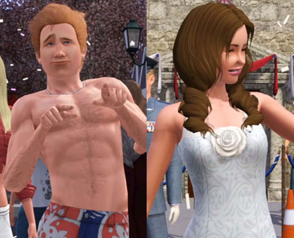 The Sims 3 Queen's Jubilee Parody