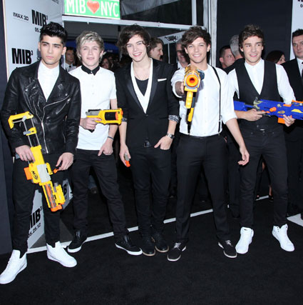 one direction at men in black 3 premiere