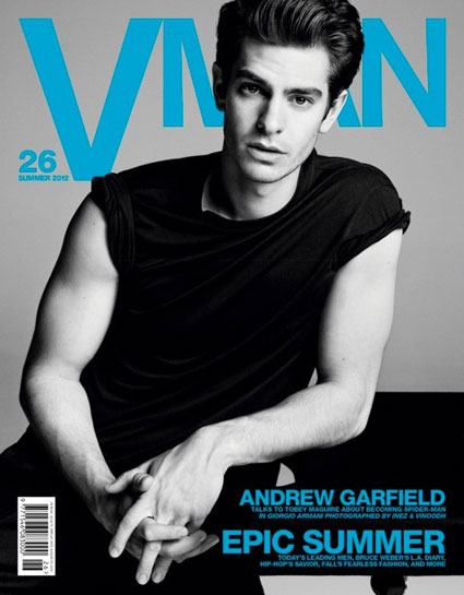 andrew garfield vman magazine cover