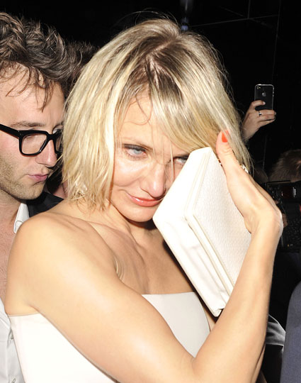 cameron diaz leaving whisky mist at 3am