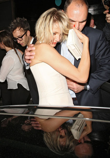 cameron diaz falling out of whisky mist