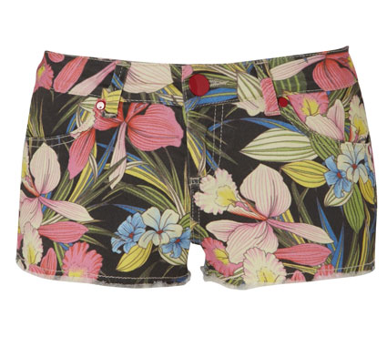 matalan floral shorts