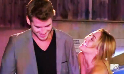 miley cyrus and liam hemsworth on punkd