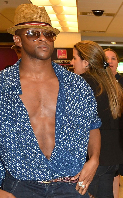 oritse williams deep v neck top