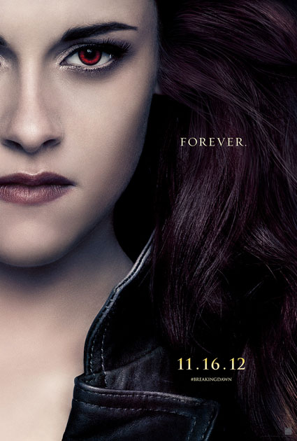 twilight breaking dawn part two bella cullen poster