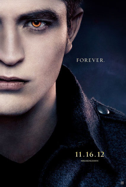 edward cullen in breaking dawn part two official poster