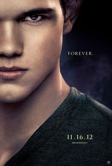 jacob black twilight breaking dawn part 2 poster