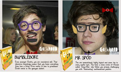 louis tomlinson as a geek