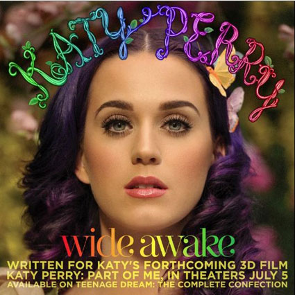 katy perry wide awake artwork