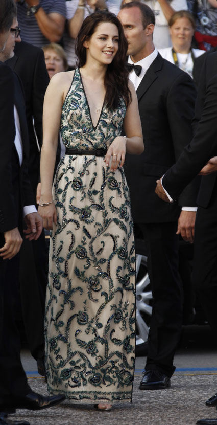 kristen stewart at cannes 2012 on the road premiere
