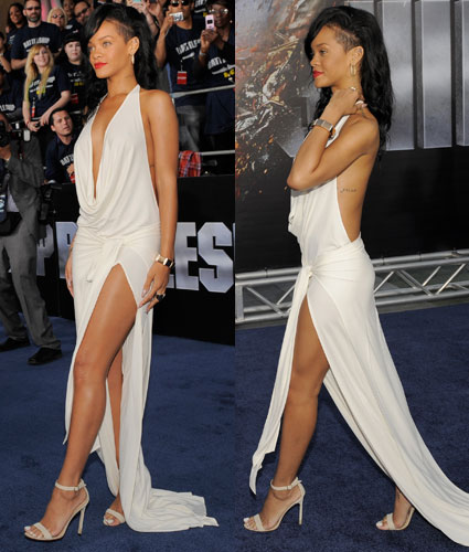 rihanna at battleship premiere