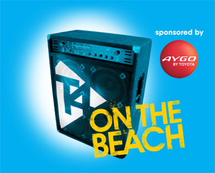t4 on the beach logo