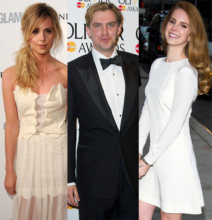 Diana Vickers, Dan Stevens and Lana Del Rey for Latitude 2012