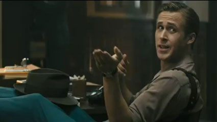 Ryan Gosling in new trailer for Gangster Squad