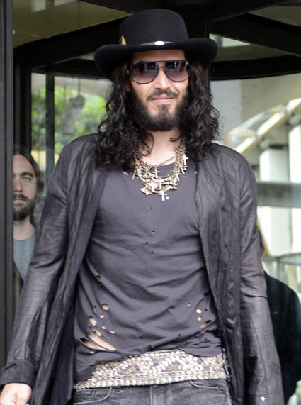 Russell Brand asked to be cut out of Katy Perry film