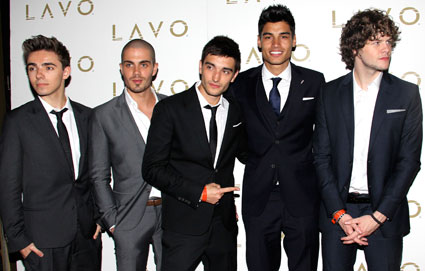 The Wanted host Billboard Awards after-party
