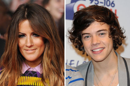 Caroline flack doesn't want to get back with Harry Styles