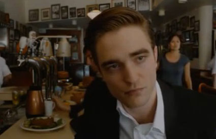 Robert pattinson in new cosmopolis clip