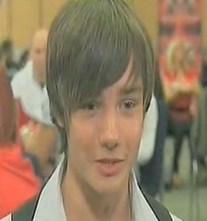 The first time Liam Payne graced our screens in 2008. He's gone whole