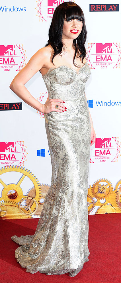 mtv ema 2012 carly rae jepsen fashion