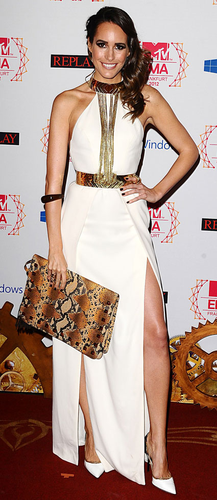 mtv ema 2012 fashion louise roe