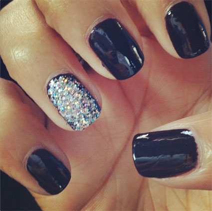 rochelle the saturdays nails