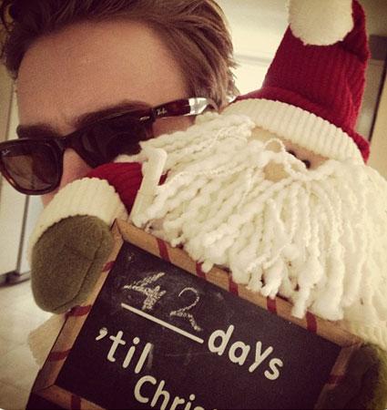 tom mcfly christmas