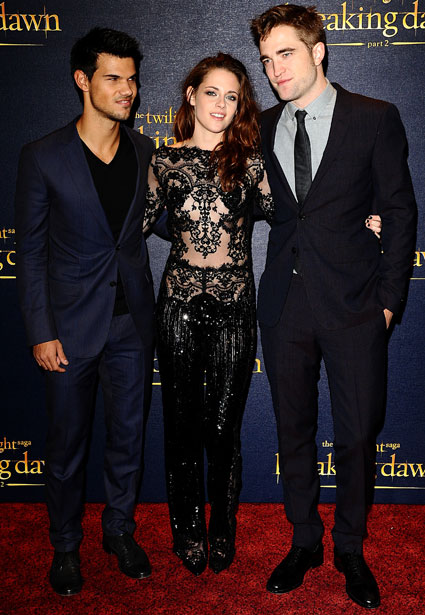 twilight cast london premiere