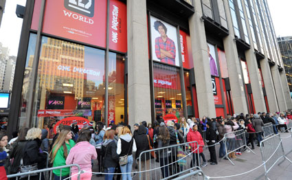 one direction store new york