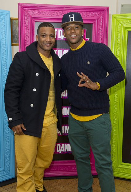 JLS JB Gill 'not pleased' about his doll - Oritse Williams says it looks like a 'Caribbean George Michael'