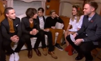 Harry Styles and Caroline Flack reunited for One DIrection's Xtra Factor interview - VIDEO