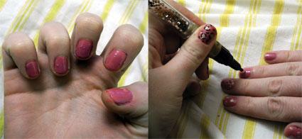 How to: DIY Leopart print nail art