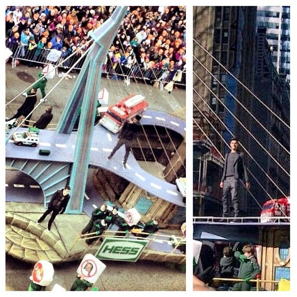 The Wanted perform I Found you at New York's annual Macy's Thanksgiving Day Parade - PICS