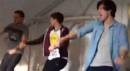 One Direction show off their hipthrusting prowess in new dance routing for C'mon C'mon