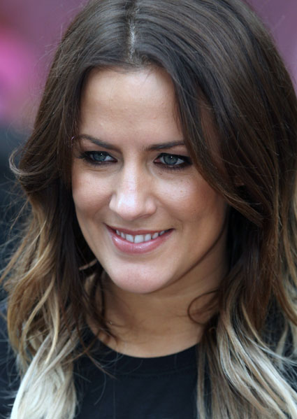 Caroline Flack will be lonely this Christmas with no Harry Styles or Olly Murs...