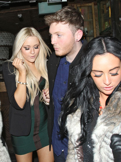 Emma Watson, X Factor's James Arthur and loads of girls spotted partying at Mahiki - PICS