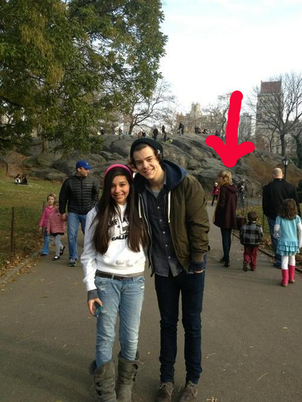 One Direction's Harry Styles hangs out with Taylor Swift in New York's Central Park - PICS