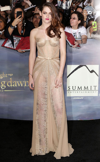twilight breaking dawn premiere kristen stewart
